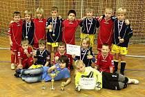 Neratovická mladší přípravka obsadila na domácím turnaji druhé a sedmé místo.