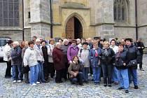 Výlet všetatských a přívorských seniorů do Kutné Hory za památkami UNESCO.