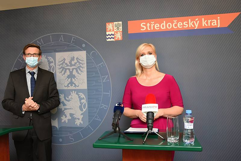 Martin Kupka a Petra Pecková.