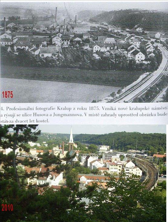 Pohled z vrchu Hostibejk.