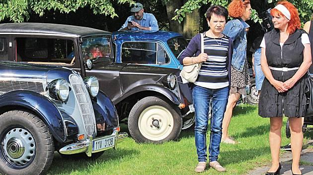 Veteran Rallye Mělník - Štětí.