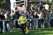 Fotbalisté Velkého Borku nastoupili v rámci oslav 80. výročí proti internacionálům Sparty.