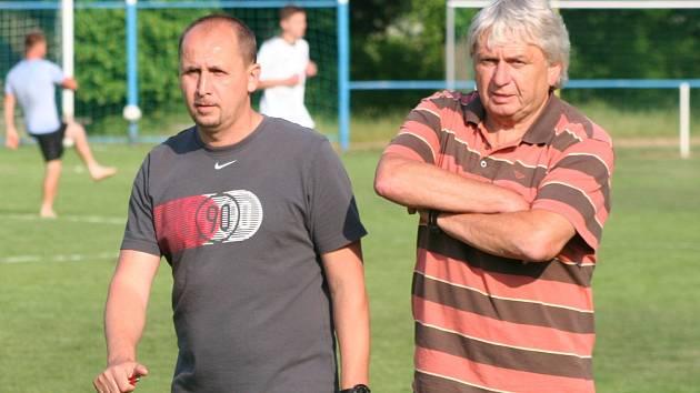 Bývalý fotbalista Sparty Zdeněk Svoboda trénuje Záryby v I. A třídě