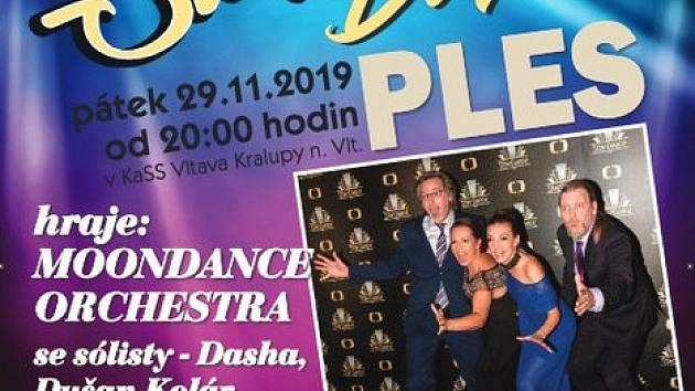 Plakát ples Kralupy