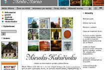 Internetové stránky města Mšena