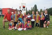 Tým Rugby Clubu Kralupy nad Vltavou