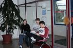 Gymnázium Jana Palacha vMělníku se otevřelo ve čtvrtek 13. února pro veřejnost v rámci Dne otevřených dveří.