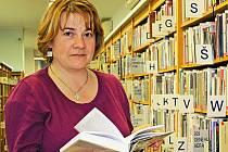 Vedoucí neratovické městské knihovny Helena Pinkerová.