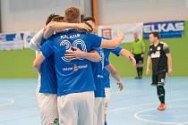 Futsalisté Olympiku Mělník v prvním domácím utkání nové sezony rozstříleli tým Žabinští Vlci Brno 10:1.i