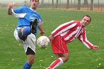 Vysoká (v modrém) - Kosořice (0-1)