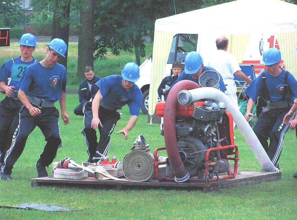 Dobrovolní hasiči ze Střem se účastní až patnácti soutěží ročně