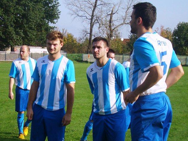 FK Brandýs n. L. - Sokol Záryby (v modrobílém); 9. kolo I. B třídy; 18. října 2014