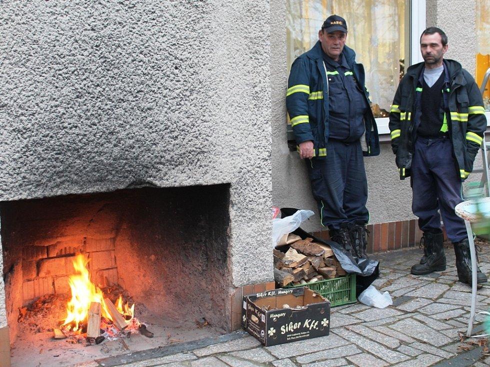 Akce Živý betlém s tvořivými dílničkami v DDM Mělník.