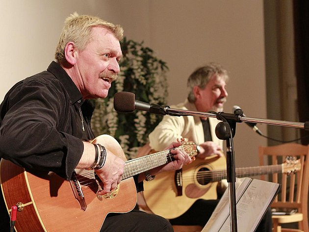 Společný koncert Ivo Jahelky a Miroslava Palečka měl velký úspěch.