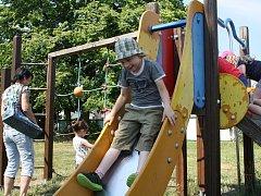 Byškovičtí sokolové ve spolupráci s místním mysliveckým sdružením a skauty z neratovického přístavu připravili v neděli pro děti sportovní dopoledne plné soutěží a zábavy.
