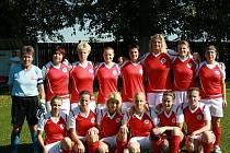 Fotbalistky Všestud drží po podzimu ve třetí lize druhé místo.