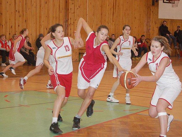 Mladší dorostenky BK Kralupy Junior zvítězily v Klatovech.