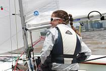Pro kormidelnici Johanku Kořanovou bylo mistrovství světa v Argentině posledními závody v lodní třídě Cadet.