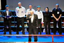 Starosta Ctirad Mikeš zahájil i první Galavečer bojových umění v Mělníku svým proslovem mezi šestnácti provazy. Mediálním partnerem večera byl i Mělnický deník.