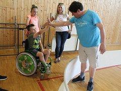 Již podvanácté sportovci podpořili malého Filípka Sršně, kterému lékaři v prvním roce života diagnostikovali dětskou obrnu.