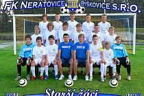 Starší žáci FK Neratovice/Byškovice kralují bez jediné porážky krajskému přeboru.