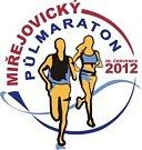 Malé oficiální logo letošního ročníku Miřejovického půlmaratonu.