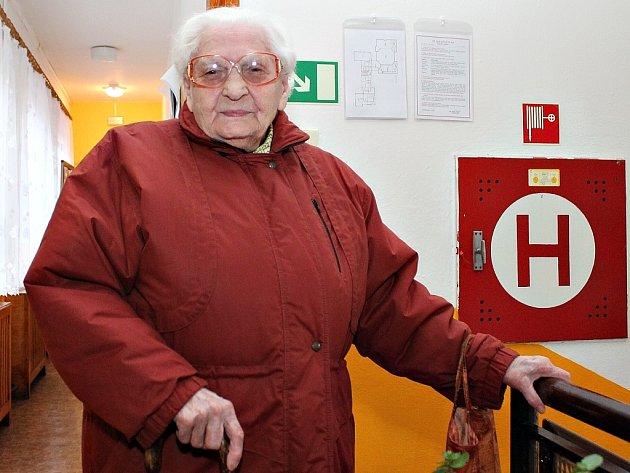Jasným kandidátem na nového prezidenta byl pro Ludmilu Švábenickou (na snímku) Přemysl Sobotka.