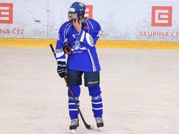 Tomáš Soukup ještě v dresu kralupského staršího dorostu.