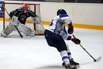 Hokejisté Kralup v úvodním utkání roku 2020 přehráli rezervu Příbrami v poměru 6:4.