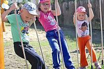 Lanový park pro děti. Ilustrační foto.