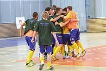 Futsalisté Olympiku oslavili postup do 1. ligy