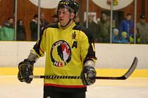 Martin Příhoda v dresu HC Junioru Mělník.