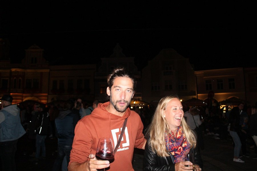 Také v sobotu probíhala na Mělnickém vinobraní pestrá paleta zábavy všeho druhu.