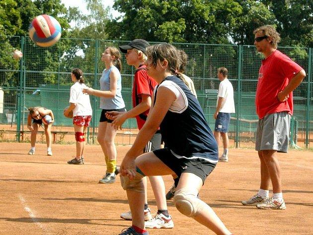 Volejbalový kemp Martina Demara v Mělníku