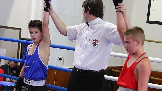 Mělník hostil juniorskou ligu mládeže a první liga mužů v olympijském boxu.