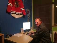 Hostem online rozhovoru byl hokejový trenér Josef Zajíc.