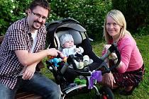 JONÁŠEK CHALUPA dělá svým rodičům Ditě a Sváťovi jen samou radost.