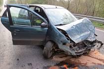Auto viníka nehody.