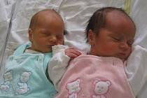 Anežka a Lukášek se rodičům Karolíně Lotkové a Janu Nosálovi z Odolena Vody narodili 12. července 2012. Anežka vážila 2,83 kg a měřila 48 cm a Lukášek vážil 2,99 kg a měřil 50 cm.