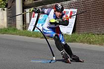 Vítěz finálového závodu Petr Brandtner (SKI klub Písek)