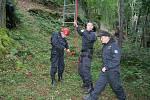 Policisté poměřili své síly v testu odolnosti.