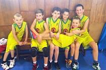 Nejmenší basketbalisté z Mělníka se drží na čtvrté příčce tabulky krajského přeboru.