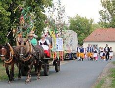 Obřístevský spolek májový uspořádal o víkendu Staročeské máje.