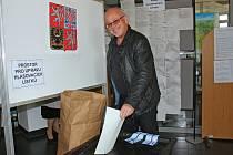 Volební místnost - Městský úřad Kralupy nad Vltavou