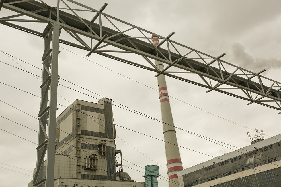 Prohlídka mělnické elektrárny v úterý 17. srpna 2021.
