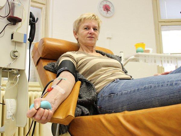 Odběrové středisko vMělníku shání nové dárce krve a krevní plazmy.