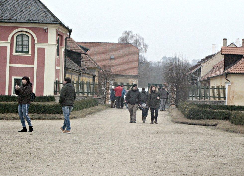 Zámek Veltrusy (ilustrační foto).