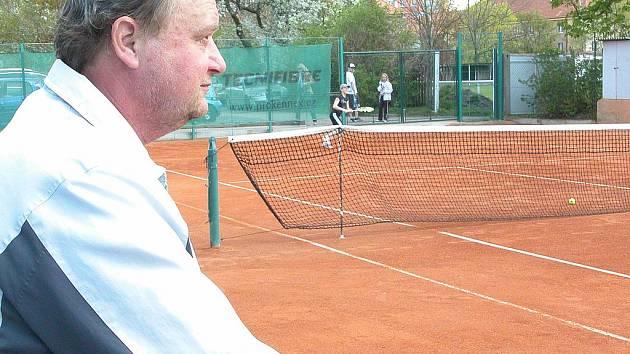 Jan Šátral, šéftrenér tenisového oddílu SK Mělník
