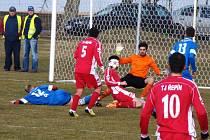 TJ Řepín - Sokol Kněžmost (1:0); 14. kolo I. B třídy; 22. března 2015