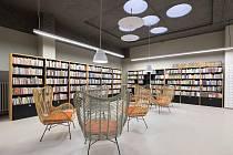 Nová knihovna v Mělníku v bývalém obchodním domě na náměstí Karla IV.
